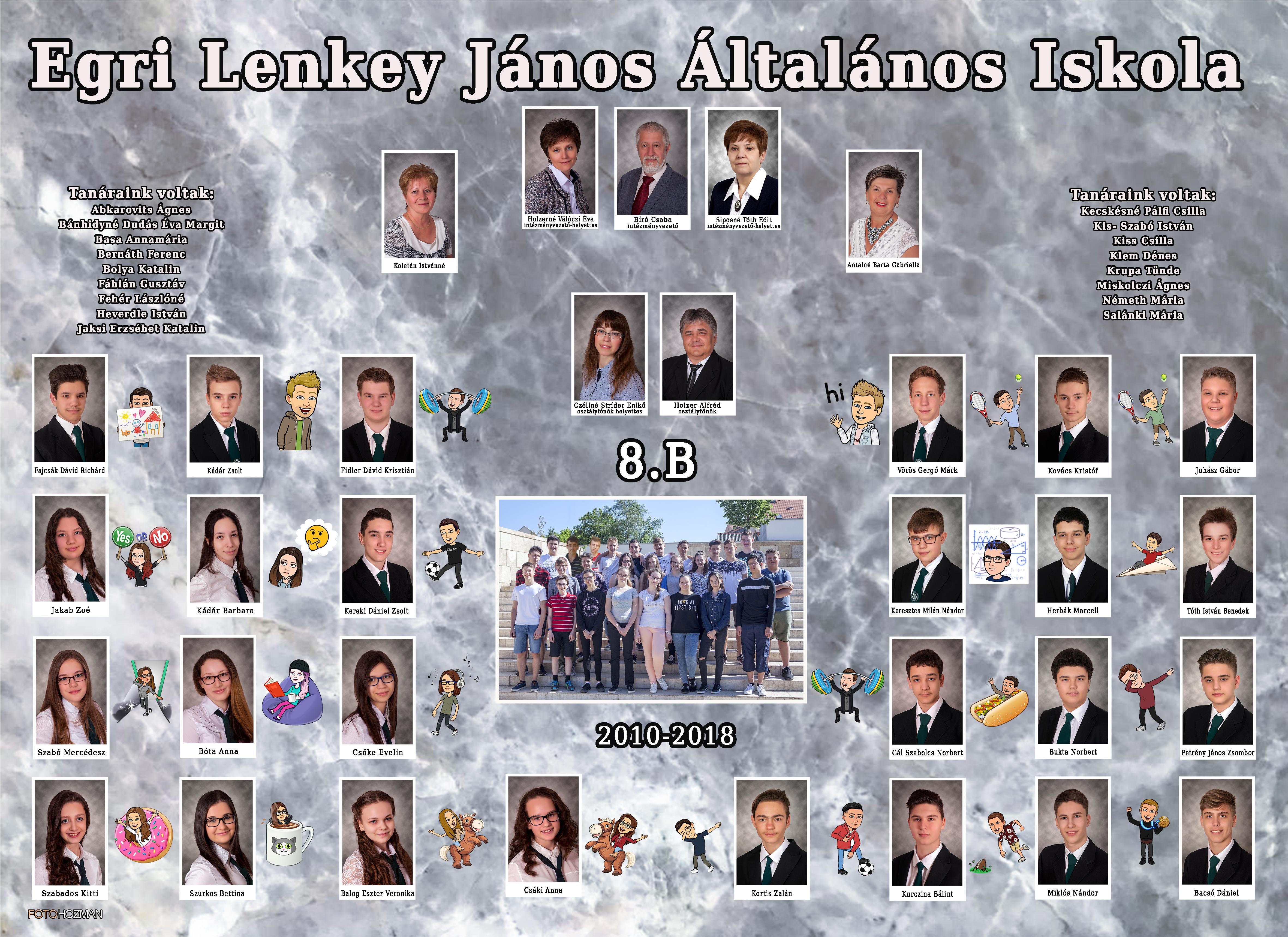 Lenkey 2009/2017 8.a tabló